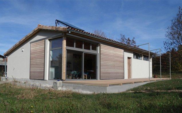 T3 architecture architecte marseille maison ossature bois for Architecte ossature bois