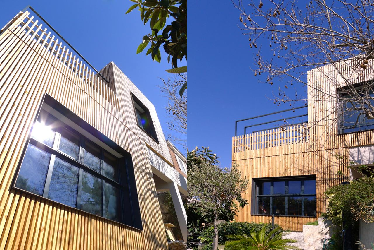 architecte marseille maison maison dans le quartier du prado marseille par maurice maison dans. Black Bedroom Furniture Sets. Home Design Ideas