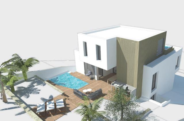 Conception architecturale : dessin 3D d'une villa à Marseille