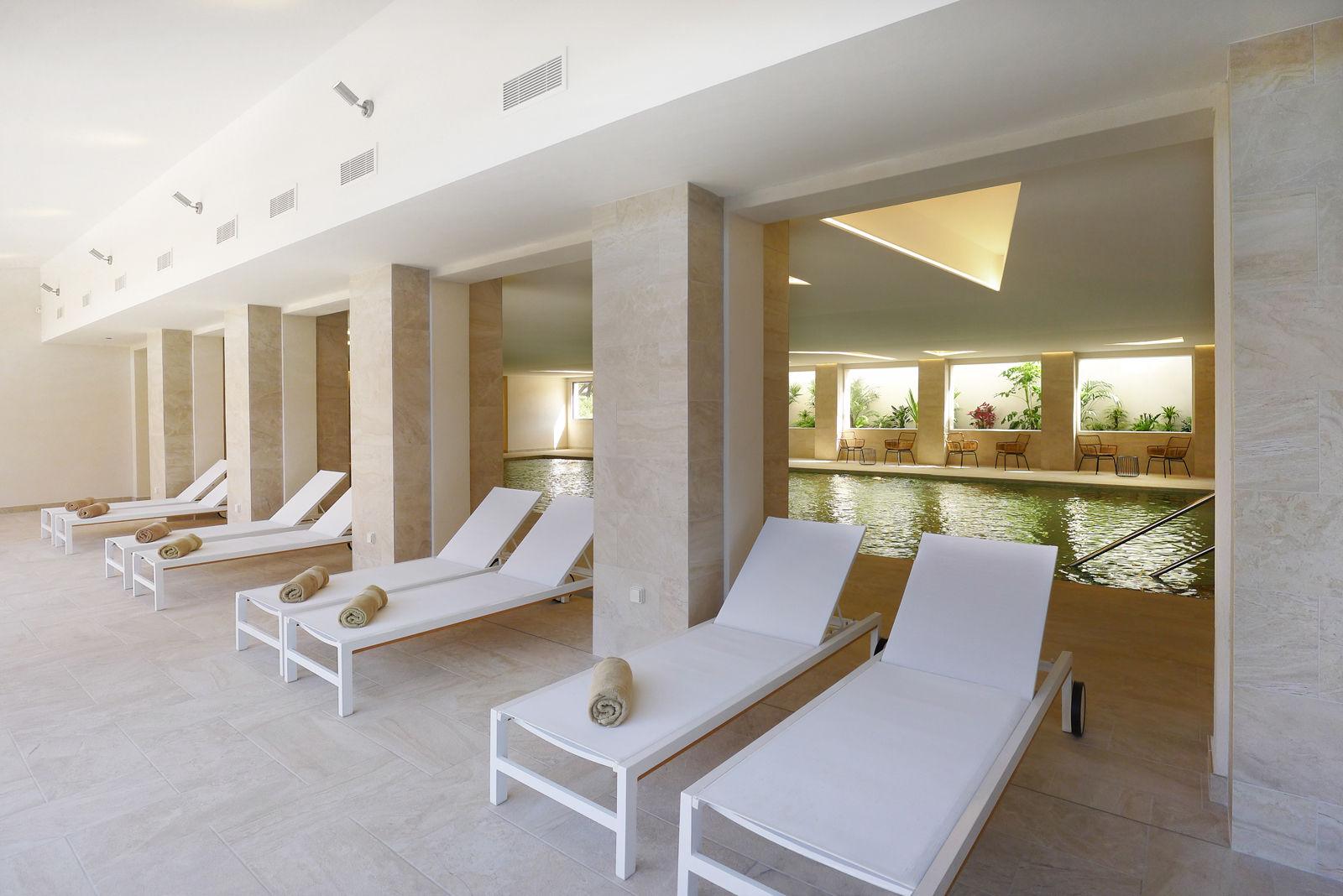 rénovation et agrandissement spa de l'hôtel Helios à Embiez