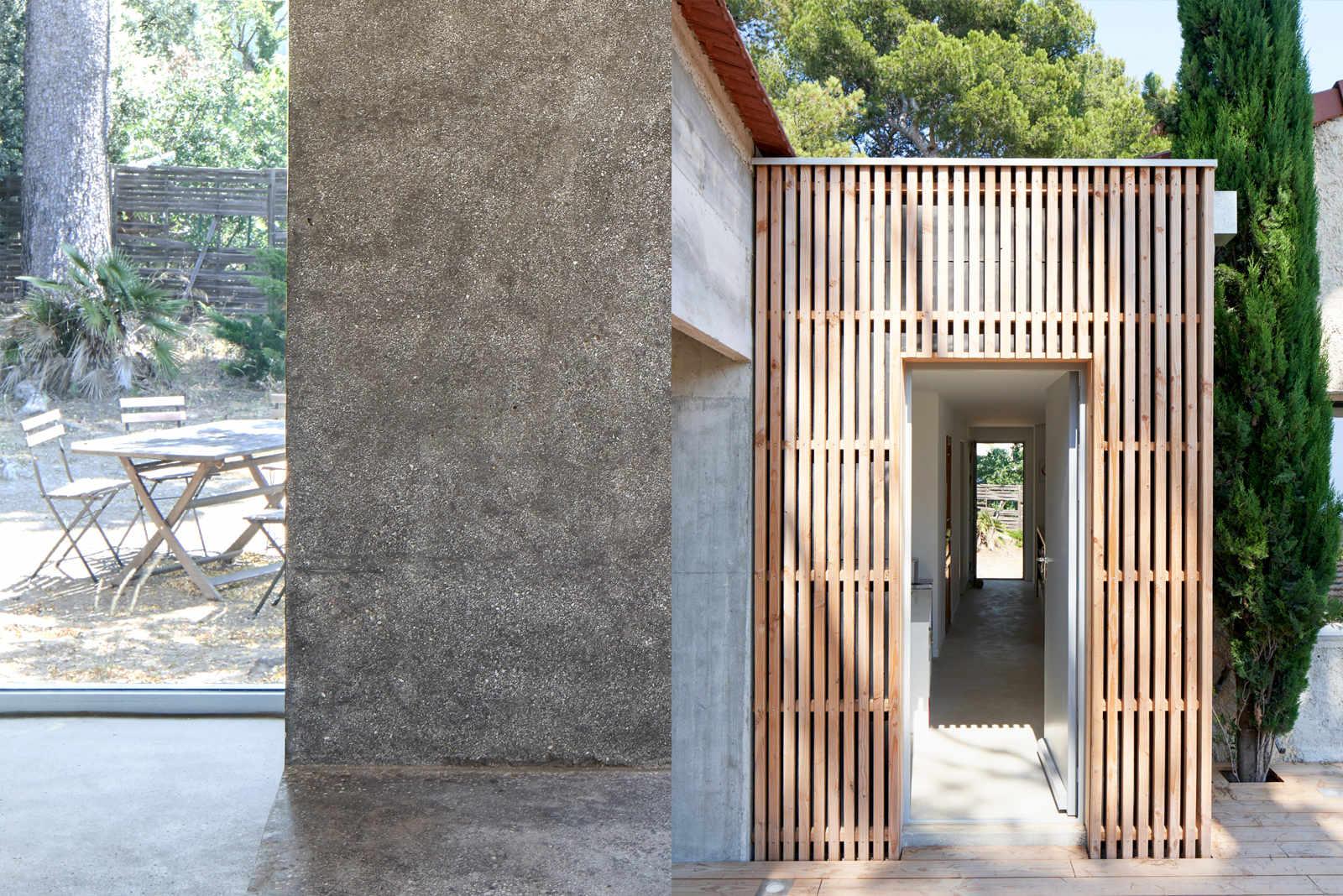 requalification complète d'une maison provençale